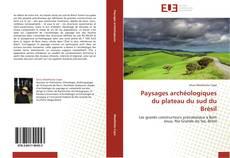 Couverture de Paysages archéologiques du plateau du sud du Brésil
