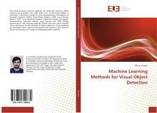 Capa do livro de Machine Learning Methods for Visual Object Detection