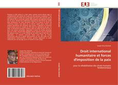 Couverture de Droit international humanitaire et forces d'imposition de la paix