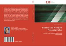 L'Analyse de Pratiques Professionnelles kitap kapağı