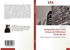 Обложка Batignolles Paris 2012 Corpus de Références  Etude de cas