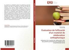Couverture de Évaluation de l'efficacité d'un matériel de rééducation orthophonique