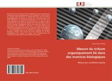 Portada del libro de Mesure du tritium organiquement lié dans des matrices biologiques
