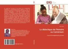 Portada del libro de La didactique de l'histoire au Cameroun: