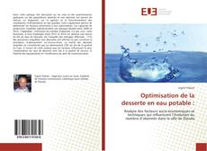 Optimisation de la desserte en eau potable :的封面