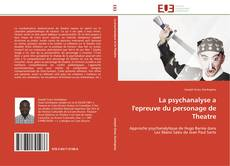 Capa do livro de La psychanalyse a l'epreuve du personage de Theatre