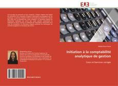 Couverture de Initiation à la comptabilité analytique de gestion