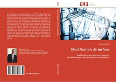 Bookcover of Modification de surface