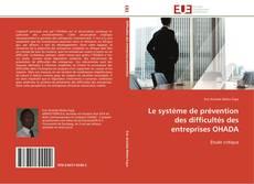 Borítókép a  Le système de prévention des difficultés des entreprises OHADA - hoz