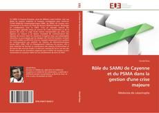 Buchcover von Rôle du SAMU de Cayenne et du PSMA dans la gestion d'une crise majeure