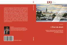 Bookcover of L'État de droit