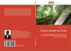 Обложка Gestion durable des forêts