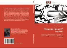 Mécanique du point matériel kitap kapağı