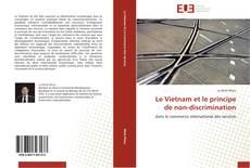 Buchcover von Le Vietnam et le principe de non-discrimination