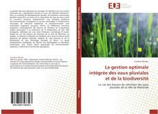 La gestion optimale intégrée des eaux pluviales et de la biodiversité kitap kapağı