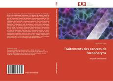 Bookcover of Traitements des cancers de l'oropharynx