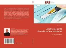 Buchcover von Analyse de santé financiére d'une entreprise