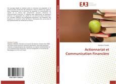 Couverture de Actionnariat et Communication Financière