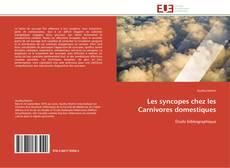 Copertina di Les syncopes chez les Carnivores domestiques
