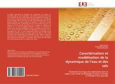 Portada del libro de Caractérisation et modélisation de la dynamique de l'eau et des sels
