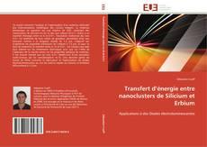 Portada del libro de Transfert d'énergie entre nanoclusters de Silicium et Erbium