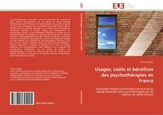 Buchcover von Usages, coûts et bénéfices des psychothérapies en France