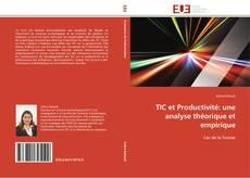 Portada del libro de TIC et Productivité: une analyse théorique et empirique