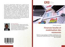 Portada del libro de Finances locales et mobilisation des ressources