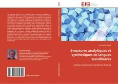 Buchcover von Structures analytiques et synthétiques en langues scandinaves