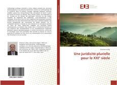 Buchcover von Une juridicité plurielle pour le XXI° siècle