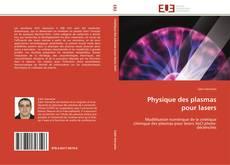 Обложка Physique des plasmas pour lasers