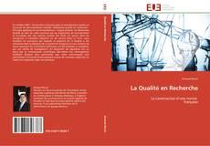 Capa do livro de La Qualité en Recherche