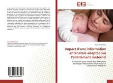 Обложка Impact d'une information anténatale adaptée sur l'allaitement maternel