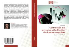 Capa do livro de Contribution à la prévention et la détection des fraudes comptables