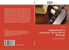 Bookcover of Application de la convention 182 de l'OIT en RDCongo