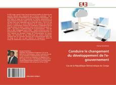 Couverture de Conduire le changement du développement de l'e-gouvernement