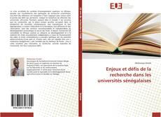 Buchcover von Enjeux et défis de la recherche dans les universités sénégalaises