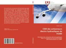Bookcover of CEM des actionneurs électro hydrauliques de l'A380