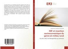 Обложка IMF et insertion socioeconomique du genre en milieu rural