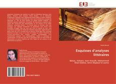 Bookcover of Esquisses d'analyses littéraires