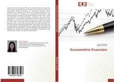Economètrie financière kitap kapağı