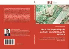 Portada del libro de Extraction liquide-liquide du Cu(II) et du Ni(II) par le D2EHPA