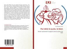 Bookcover of Par-delà le juste, le bien