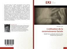 Buchcover von L'utilisation de la reconnaissance faciale