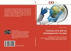 Capa do livro de Cotonou et le défi du développement durable