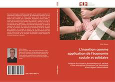 Bookcover of L'insertion comme application de l'économie sociale et solidaire