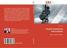 Etudes d'antennes microrubans kitap kapağı