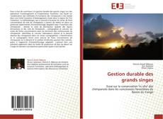 Bookcover of Gestion durable des grands singes
