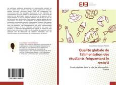 Bookcover of Qualité globale de l'alimentation des étudiants fréquentant le resto'U