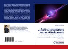 Buchcover von Высокотемпературная лазерно-индуцированная плазма в микроканалах